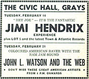 Hendrix Ticket Grays
